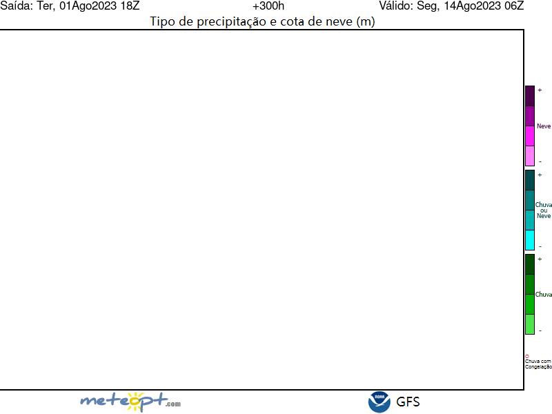 Mapa De España Actualizado.Modelo Gfs Cota De Nieve Peninsula By Meteopt Com